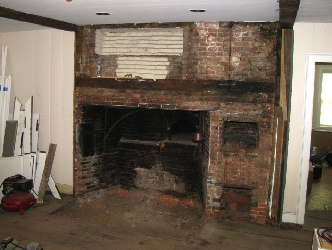 A Genealogist S Sketchbook Kitchen Fireplace 2